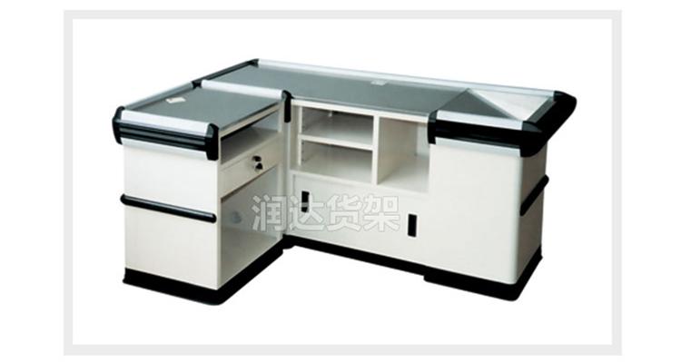 RD-009A款超市收银台/白色