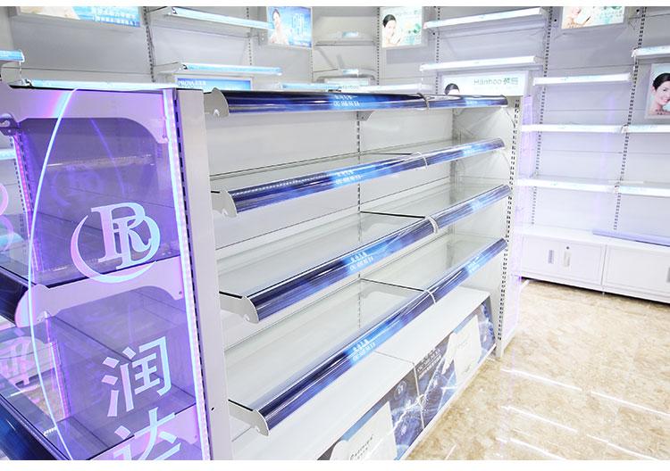 玻璃层板 化妆品展示货架