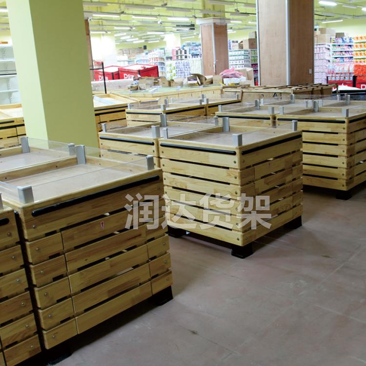 超市配套堆头架 大米堆头架