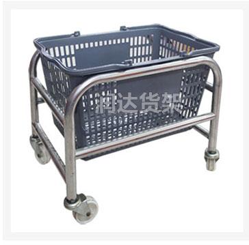 商超设备 购物篮底座 不锈钢底座