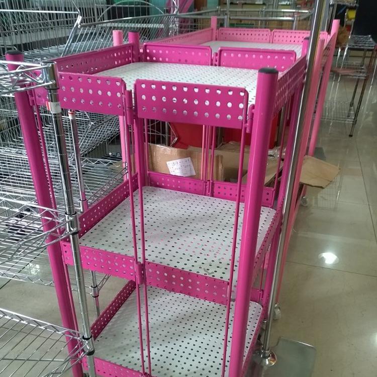 广州润达仓储货架有限公司告诉你仓储货架和展示货架的区别
