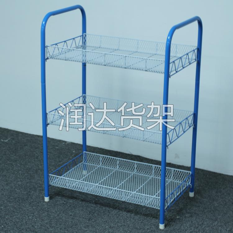 广州常见超市促销区货架
