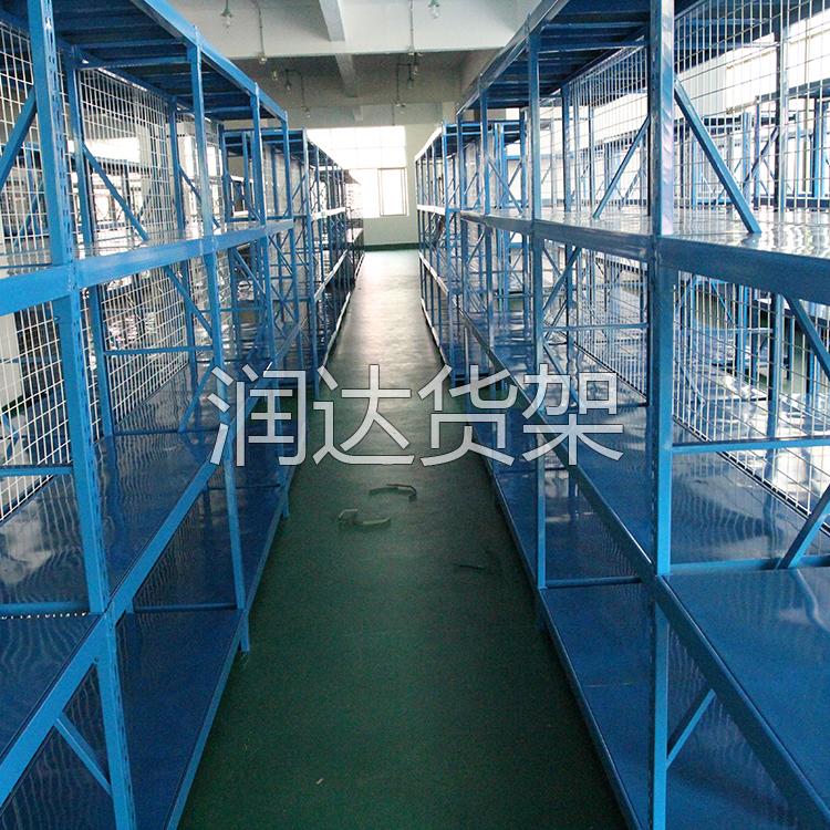 仓储货架的分类承重量.