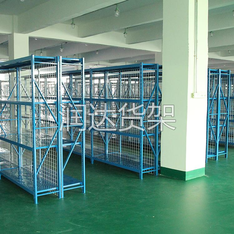 重力式仓储货架优点介绍