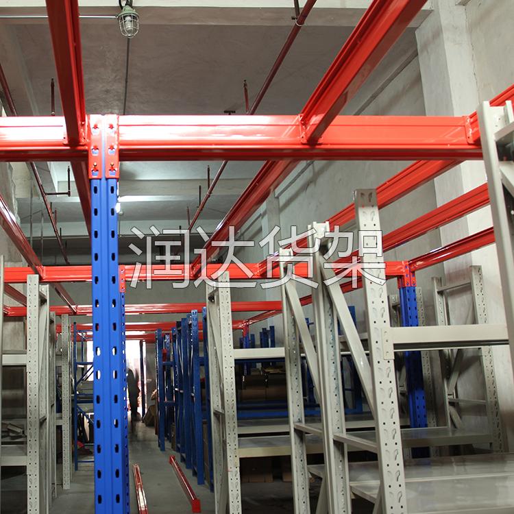 广州润达供应仓库的货架