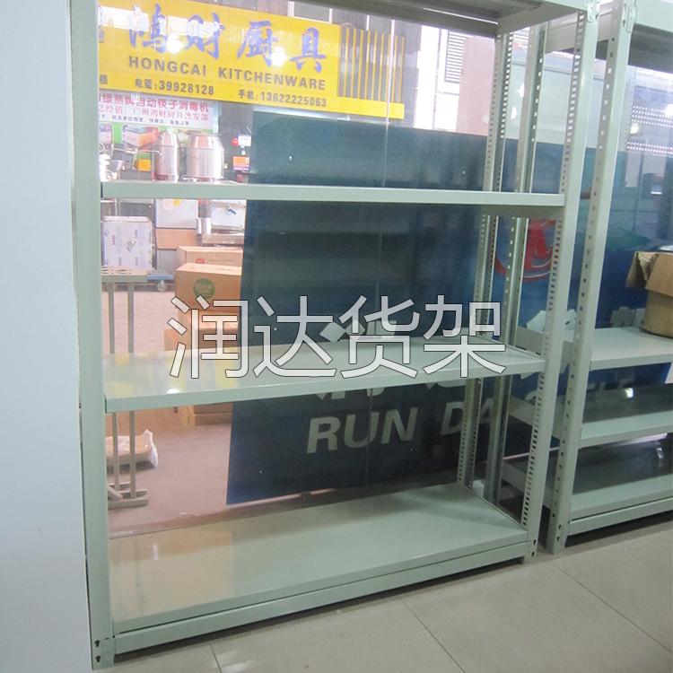 广州防静电金属铁材质搁板式货架
