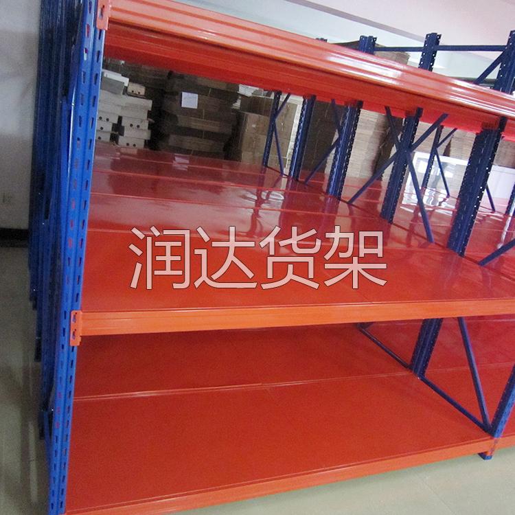 仓库物料架生产流程