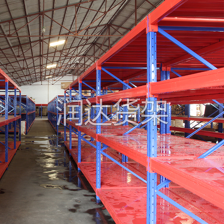 仓储货架如何从国外发展到国内—润达货架