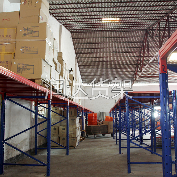 润达中量型货架的成型生产流程