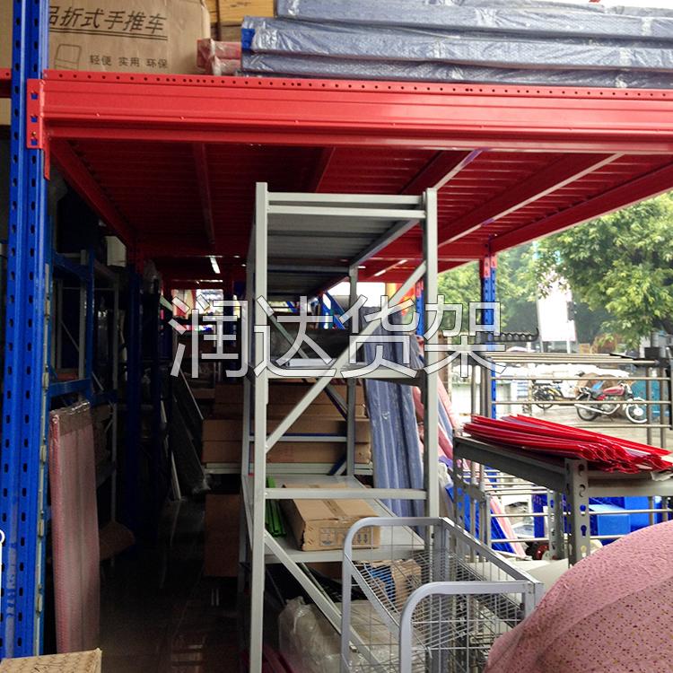 宝安重型仓库储物架的主架和副架图片