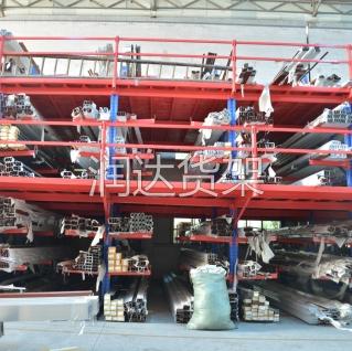 货架知识:钢小零件货架工程图解