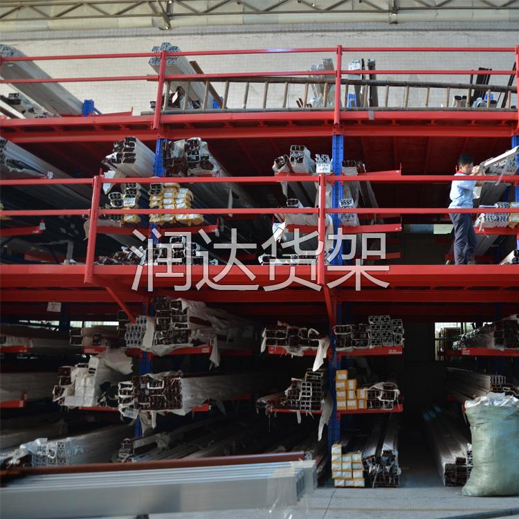 广州润达货架生产的阁楼货架已占据各行领域