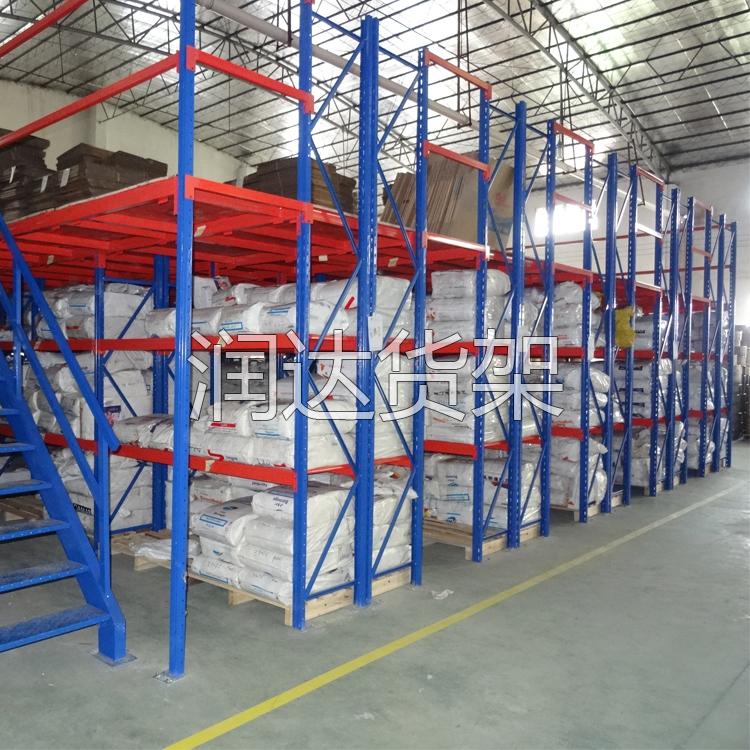 货架知识:双深度货架的设计特点2012-4-24