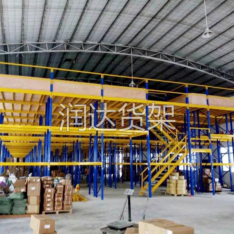 中型广州平台式货架尺寸