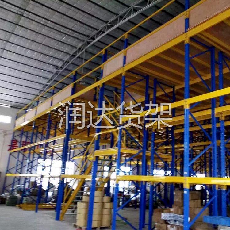 仓库阁楼货架配合仓储设备让整体运行效率提高