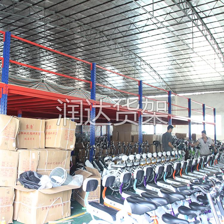 重型货架也能做钢格栅板平台,润达为日资厂客户特别定制