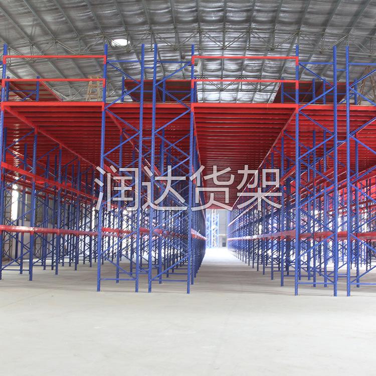 办公室阁楼仓储钢搜平台网的特点 广州货架厂