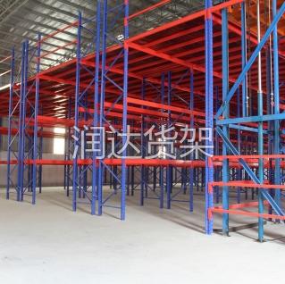 仓库规划中如何做钢仓储阁楼货架设计?