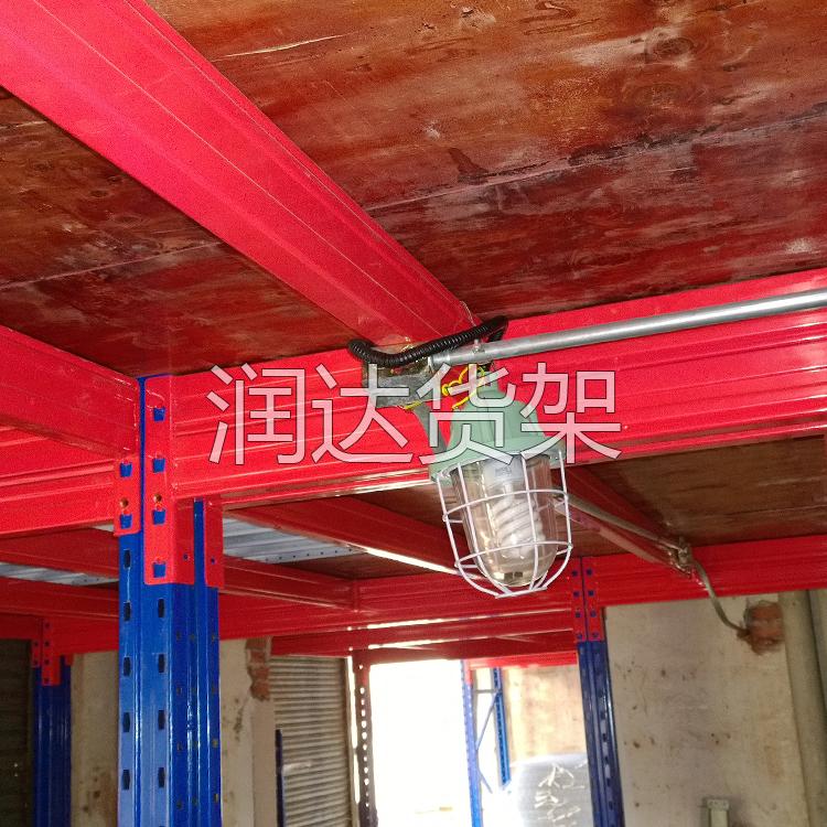 阁楼平台货架使用中的安全常识