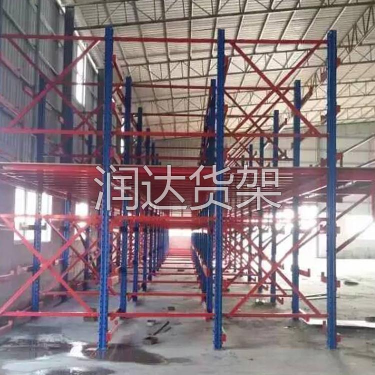 惠州印刷厂仓储货架平台,要选就选好的吧,润达!