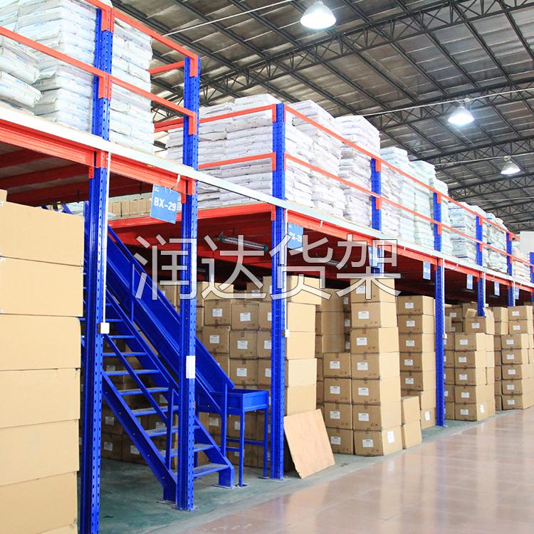 货架知识:解析钢银平台系统的设计2012-5-11
