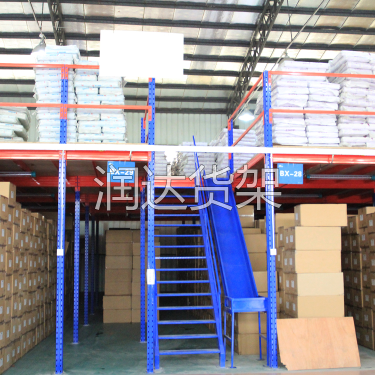 【一个仓库2个用】江门阁楼式仓储货架,帮您省钱省事