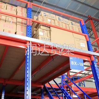 货架知识:解析钢银平台系统的设