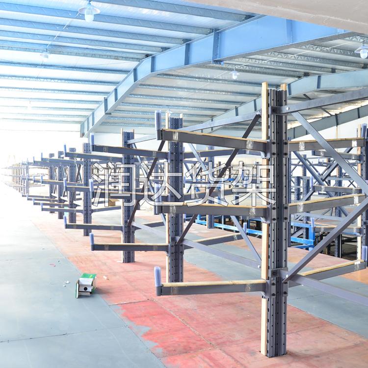 塑胶厂立体库货架,上层存储,重型货架载重好!