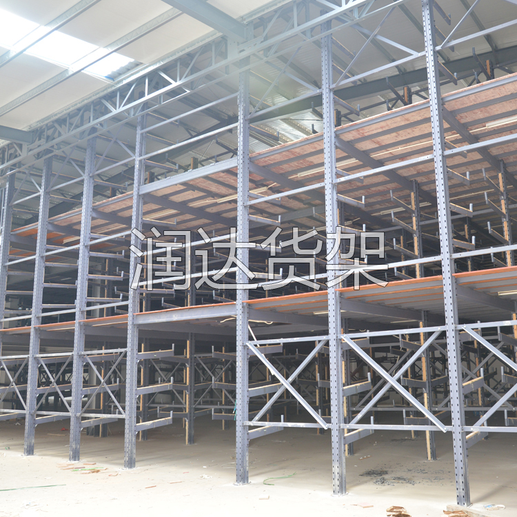 浅析钢制阁楼式仓储货架产品的特点