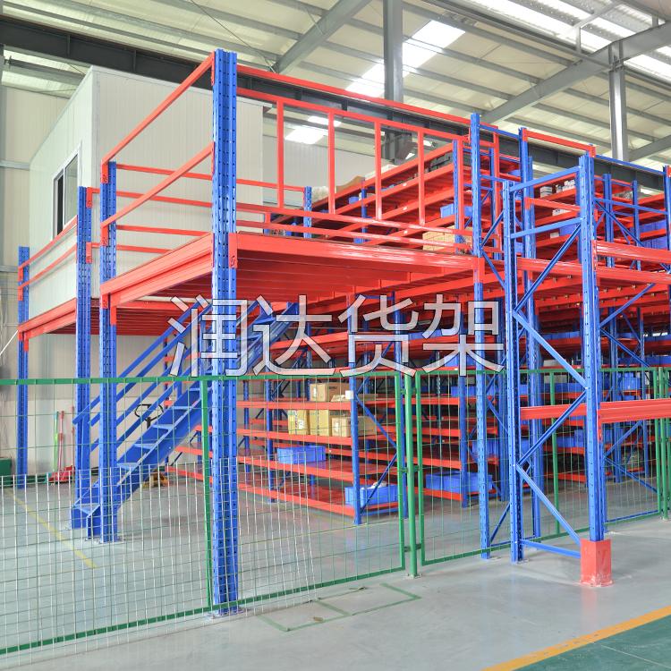 货架知识:阁楼钢组合式货架与组合式货架的共同点!2012-3-1