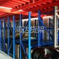 广州润达货架-阁楼货架的结构和安装