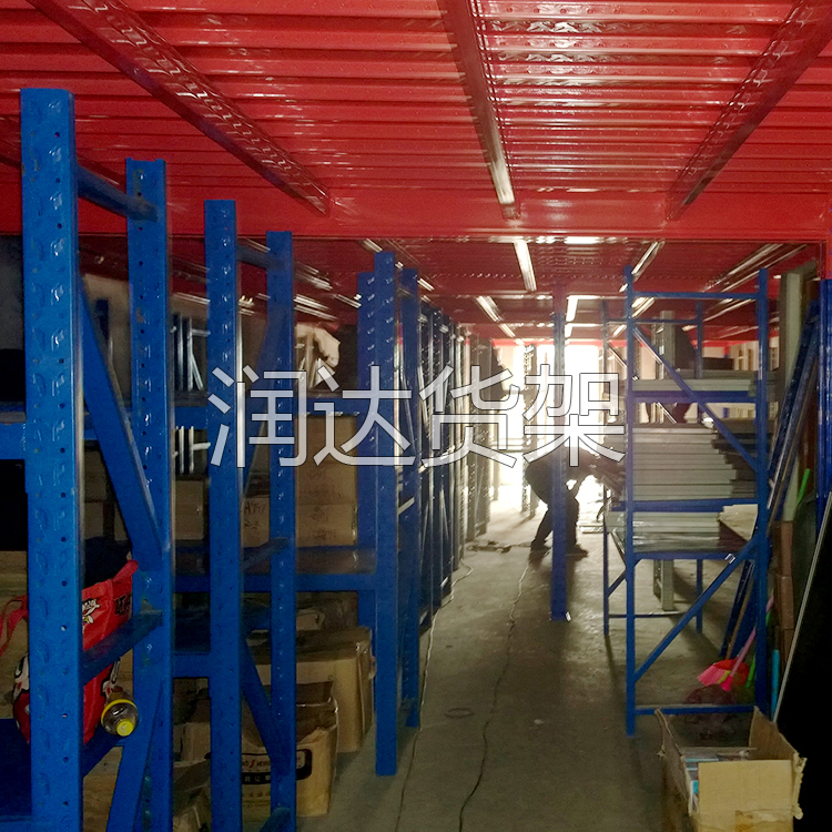 广州润达货架-阁楼货架的结构和安装介绍