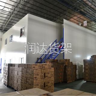使用东莞仓储广州钢走道平台的作