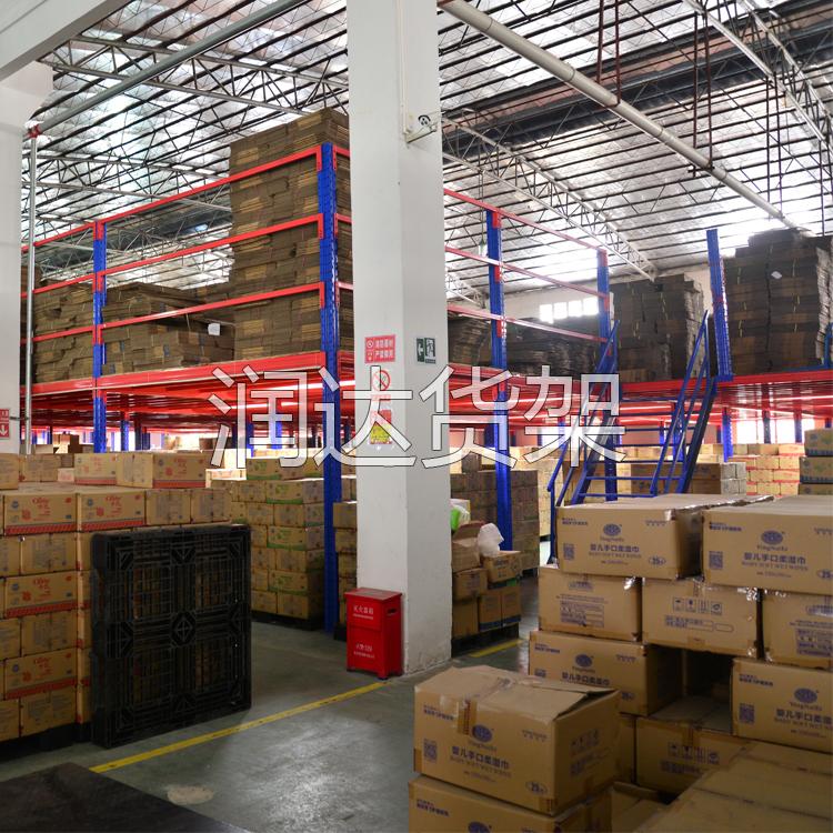 看组合式货架 如何提高1000�O仓库的仓储率?