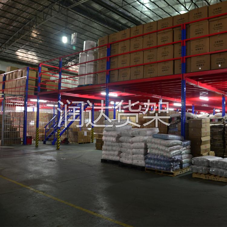 货架知识:选用仓储阁楼货架如何节省仓库空间?
