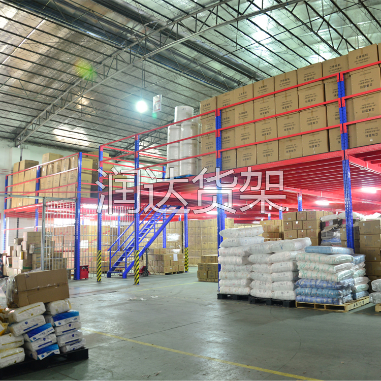 横梁货架平台中立柱片的重要性