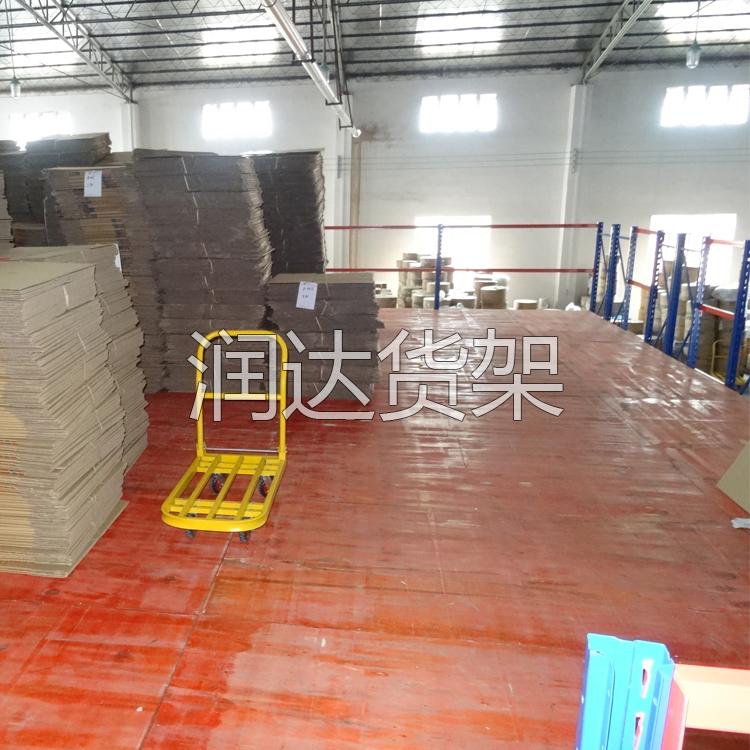 涟钢立柱式阁楼平台式货架最大的特点是什么? 广州润达货架厂