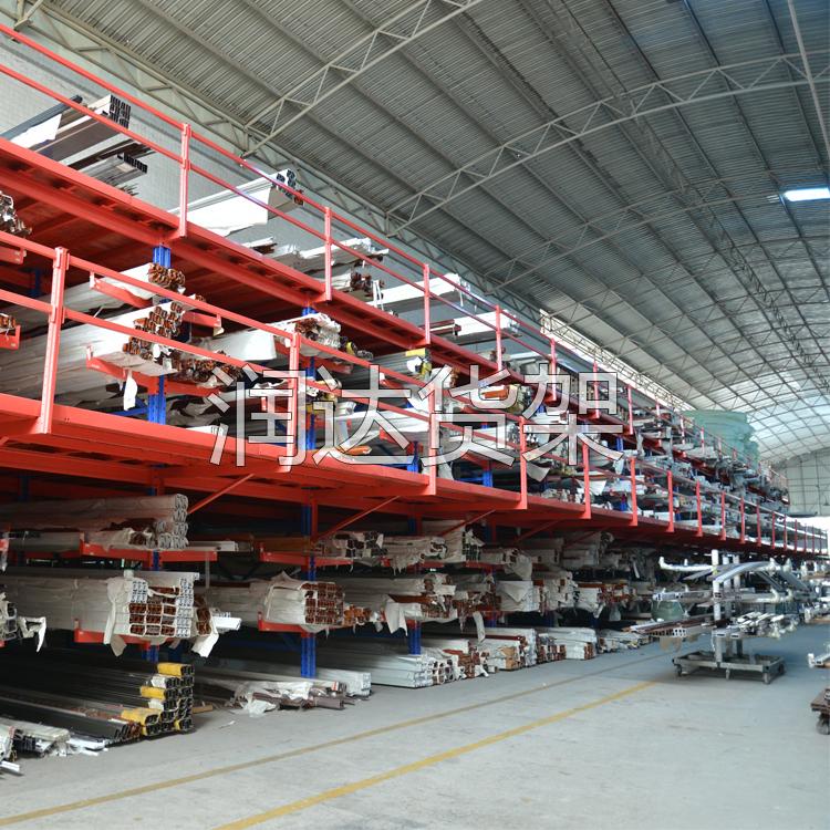 货架知识:阁楼式货架整体构造系统
