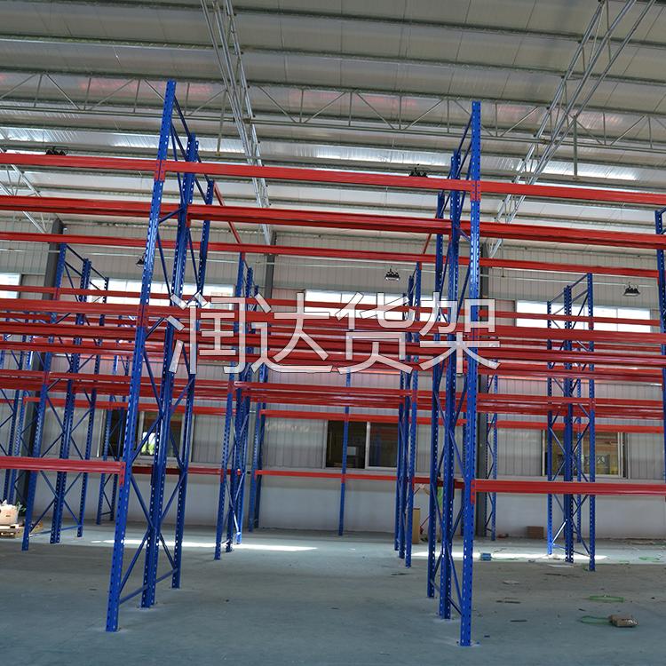广州桥德医疗产品重型横梁货架案例