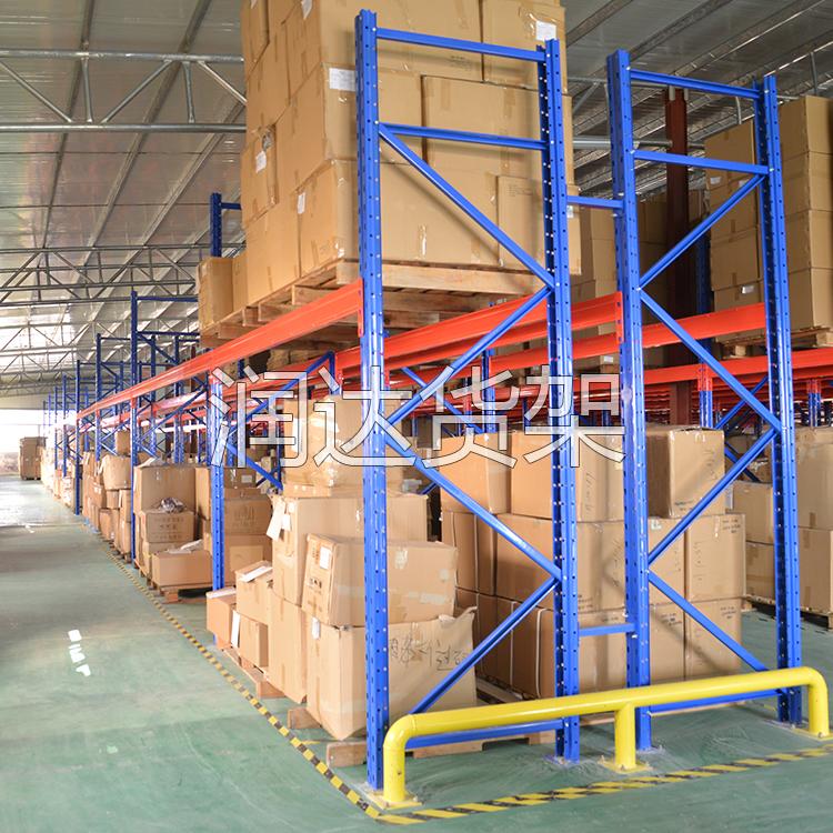 广州货架公司中驶入式货架细节布局图解2012-7-4