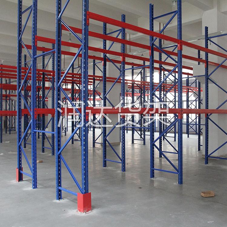 2016-9-14 阁楼货架在化工厂仓库的应用