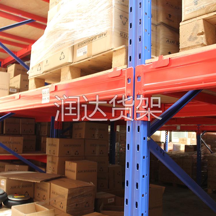 润达货架-天津仓库高位货架工程竣工