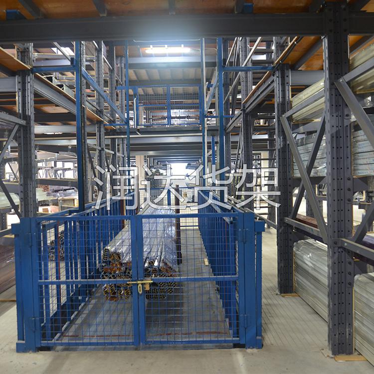 ·润达货架:货架按封闭程度和结构特点分类