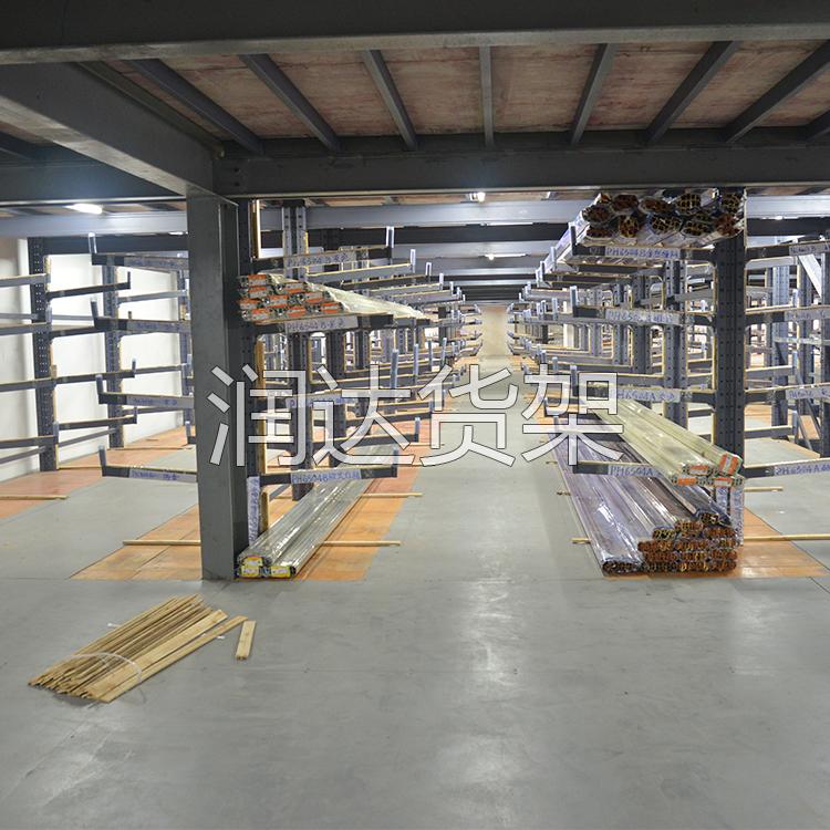 悬臂货架:长条管材存储最佳之选!