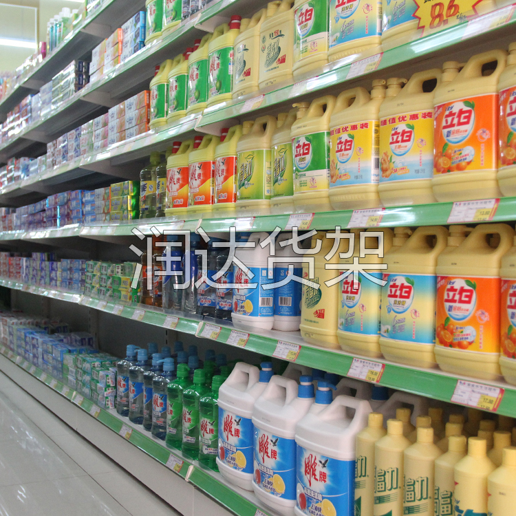 小型超市小型货架怎么设计摆放更美观丰满