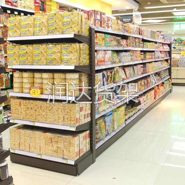 超市/商用货架的常用摆放