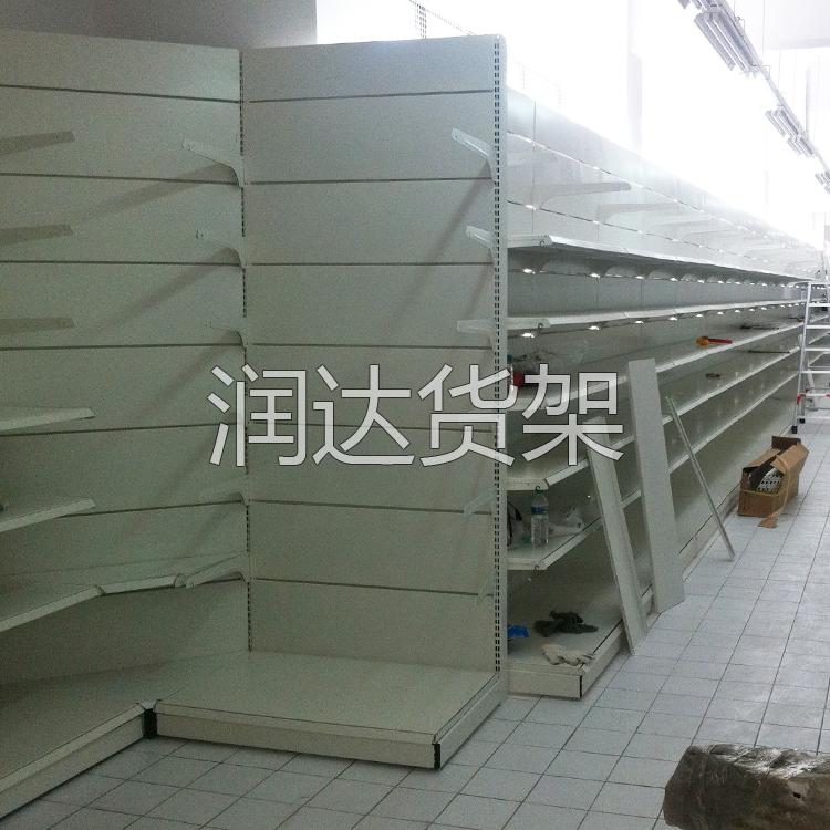 连锁超市货架样板店工程安装完毕
