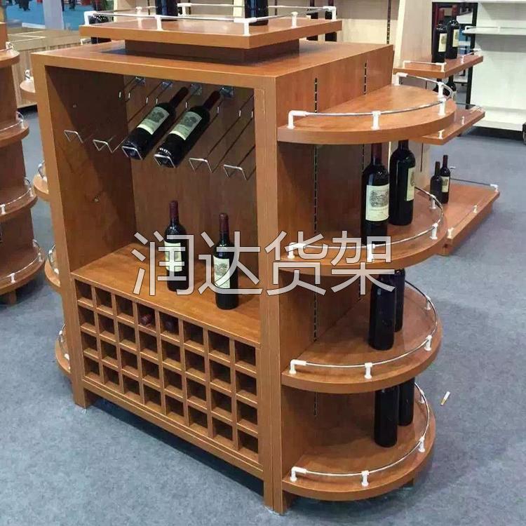 广州商超木质货架的特点