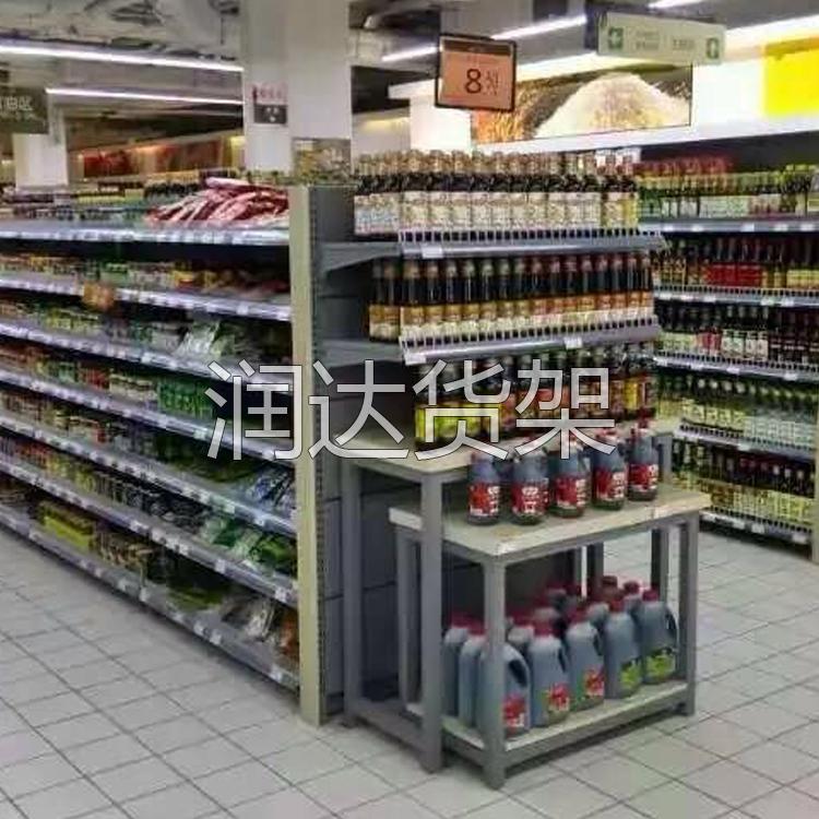 高档超市货架的出现,使得货架材质多元化