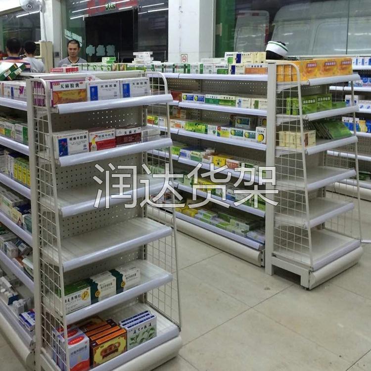 孕婴店货架销售|药店处方柜的设计理念